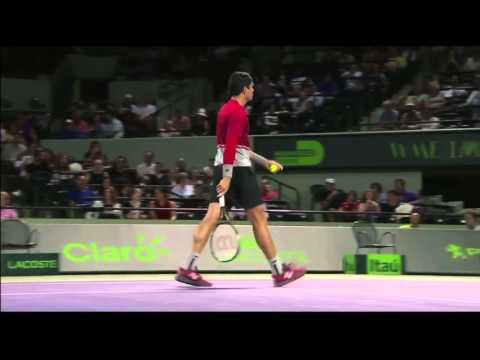 Raonic vs Sock Miami 2016 3R Highlights (HD)