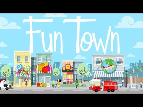 Fun Town for Kids - Creative Play by Touch & Learn.