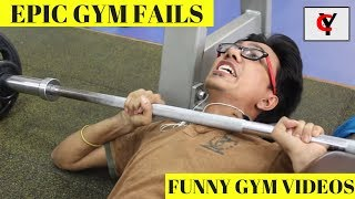 Funny Types Of People At Gym & Epic Gym Fails