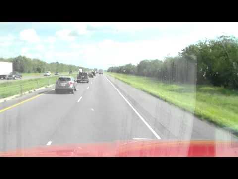 trucking jukebox, leaving texas going to miami florida
