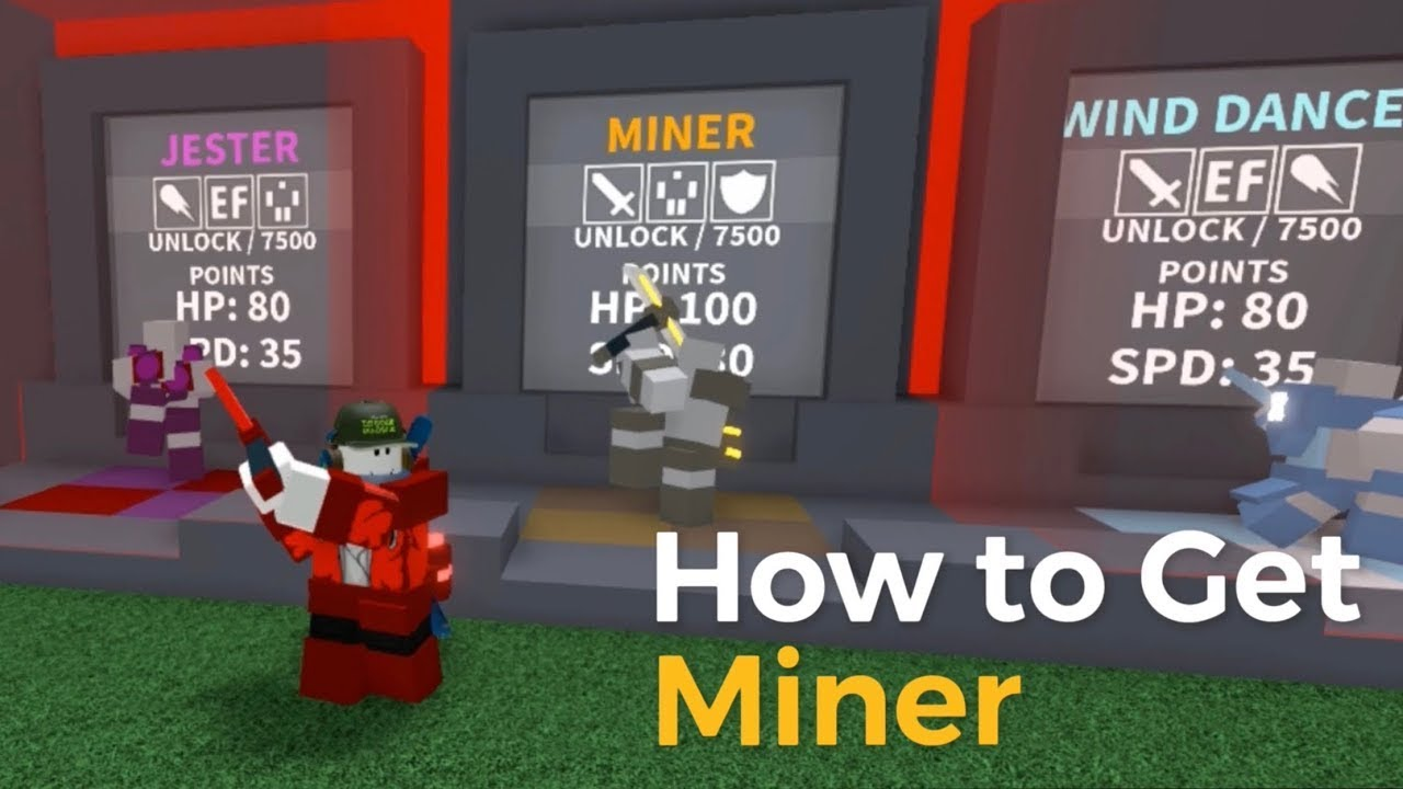 How To Get Miner Project Submus Accudo Roblox Youtube
