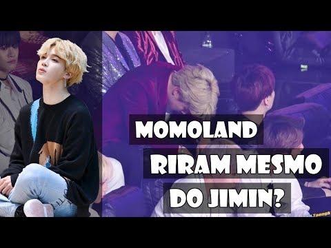 Será que as meninas do Momoland riram mesmo do Jimin?