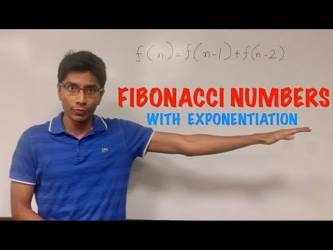 Solving the Fibonacci Sequence with Matrix Exponentiation