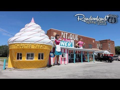 A Rabbit Ranch & the Weirdest High School on Route 66