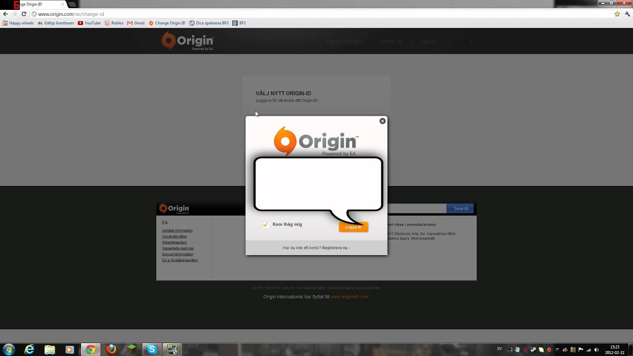 origin how to change nick name