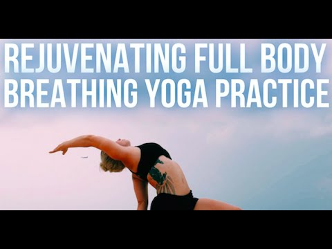Full Body Breathing Yoga Practice | Yoga with Carling Harps