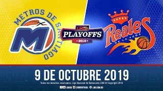 Playoffs Juego 4   Metros Vs Reales 9 Oct. 2019
