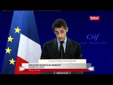 La Place Des Juifs En France Selon Nicolas Sarkozy