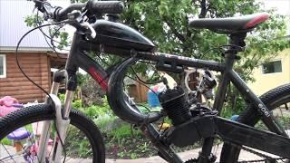 Что дает банановый глушитель/резонатор выхлопа для велосипедного 80сс двигателя