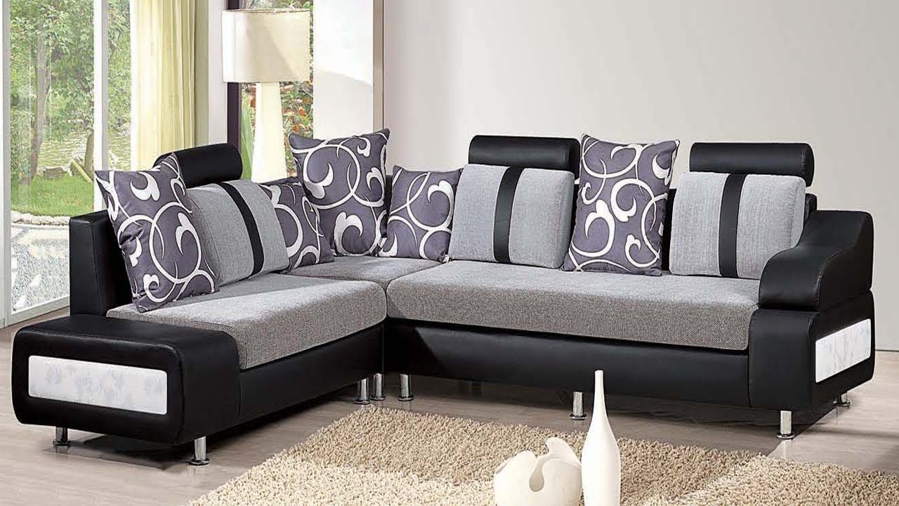 Latest Room Furniture Designs Part - 15: Sofa Design For Bedroom In Pakistan | Latest Wooden Sofa Set Design Ideas  For Living Room