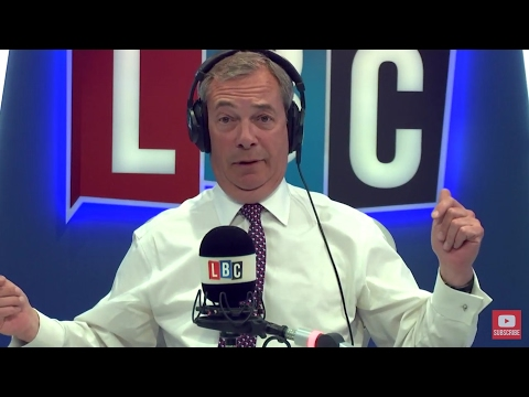 The Nigel Farage Show: General Election. Live LBC - 19th April 2017