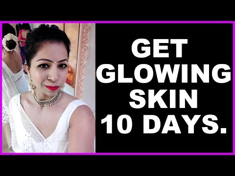 How to Get Crystal Clear Glowing Skin Naturally In 10 Days | Juice for Healthy Glowing Skin