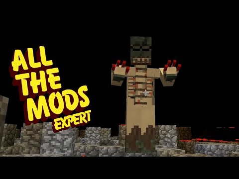 All The Mods Expert Mode - SCARY THINGS [E28] (Minecraft Expert Mod Pack)