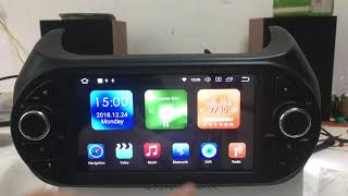 Android radio for Citroen Nemo/bipper/fiorino Radio Removal replacement Aftermarket Installation