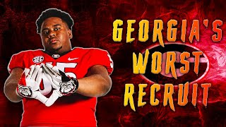 "Georgia's ""WORST"" Recruit Is... l Sharpe Sports"