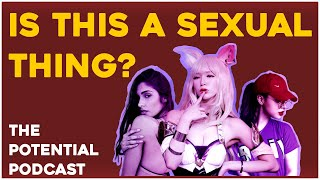 What's it like to be on egirl.gg? Interviewing an egirl | The Potential Podcast