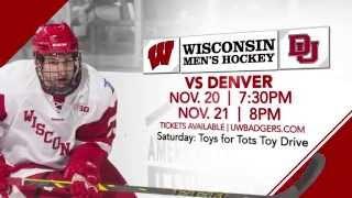 Wisconsin Hockey looks towards top-ten Denver - Nov 20/21