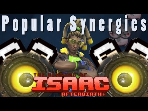 The Binding of Isaac Afterbirth Plus | Lucio! | Popular Synergies!
