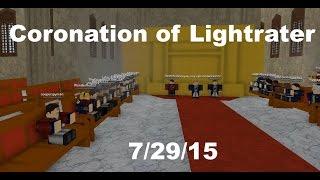 Coronation of Lightrater, TGEoB