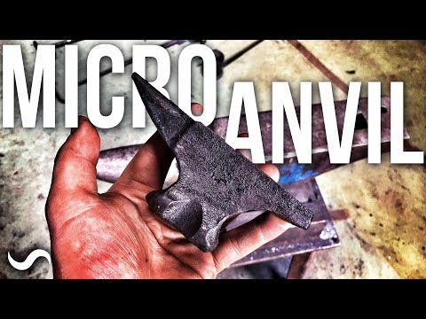 FORGING A MINI ANVIL!!!
