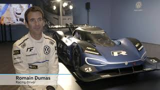 ID. R. - електричний гоночний автомобіль від Volkswagen