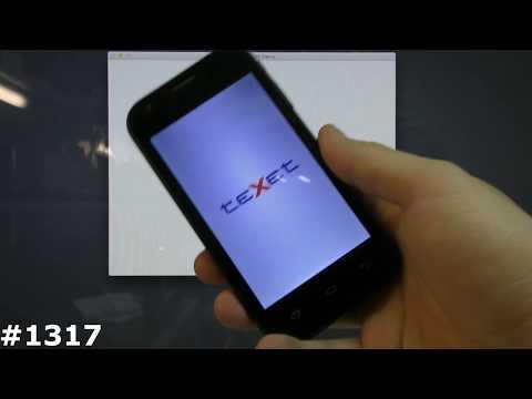 Прошивка TeXet X-start TM-4172. Как попасть в рекавери