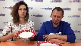 Видеообзор набора столовых тарелок «Веселый горох»