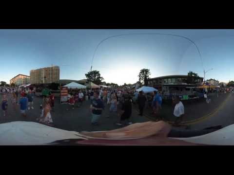 360 Degree Interactive Video of Hyde Park Blast Cincinnati 2016 Block Party
