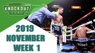 Boxing Knockouts | November 2019 Week 1