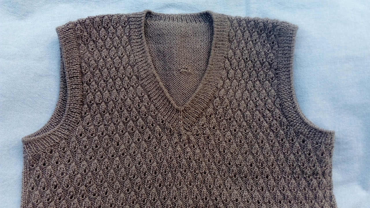 Knitting Pattern For Sweater & Cardigan - YouTube