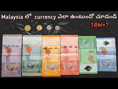 తెలుగు లో Malaysian Currency & Value | Malaysia Ringgit Explained | Telugu Vlogs In Malaysia