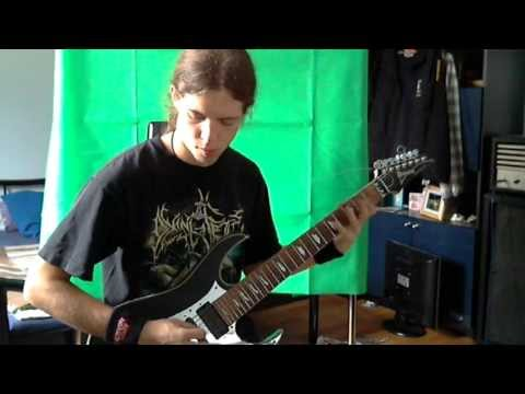 Kataklysm - Blood in Heaven (Guitar Cover)