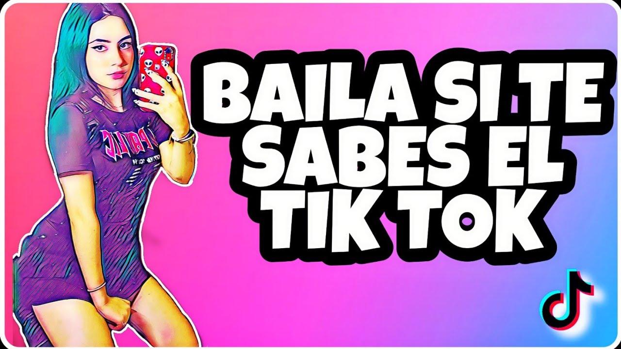 Baila Si Te Sabes el Tik Tok // Octubre 2020