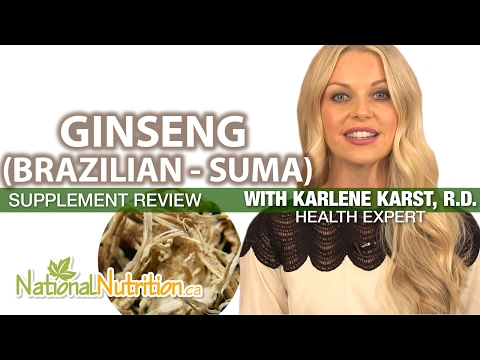 Professional Supplement Review - Ginseng (Brazilian - Suma)