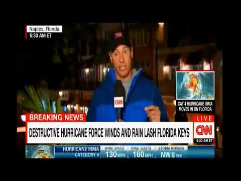 CNN Live coverage with Chris Cuomo in Naples Florida as Hurricane Irma comes ashore in the Keys