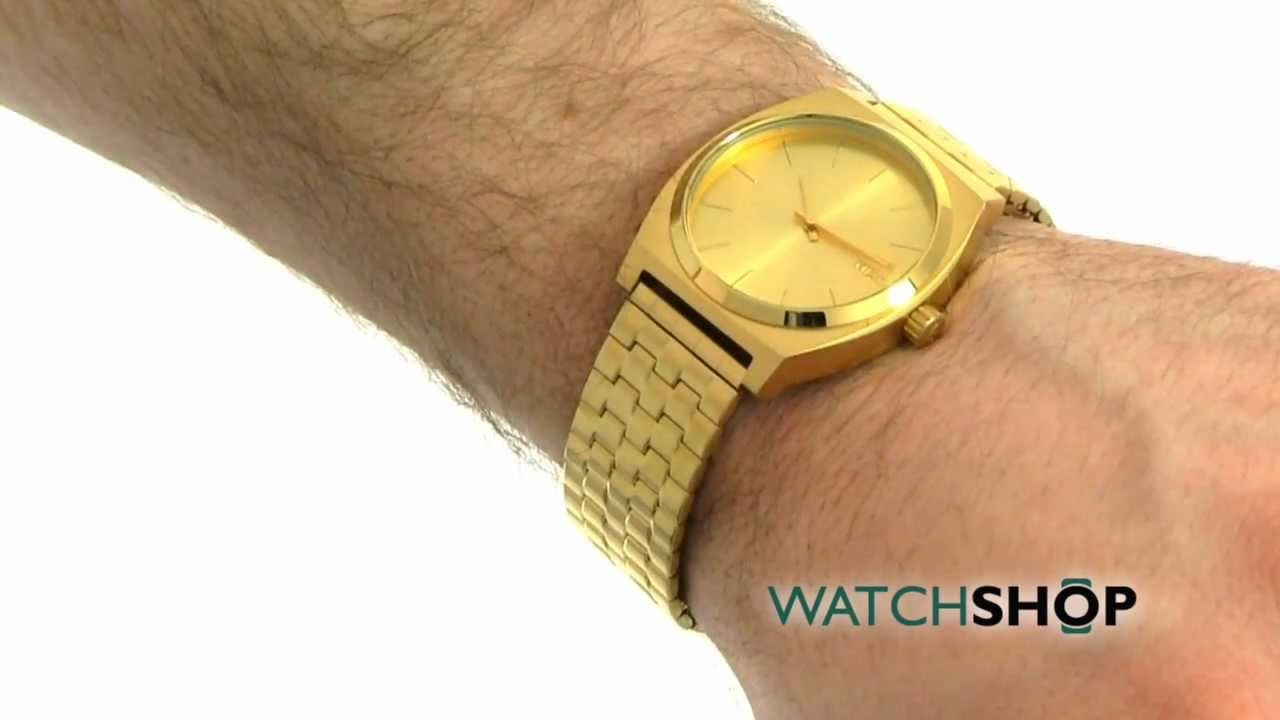 Unisex Nixon The Time Teller Watch A045 511 Youtube