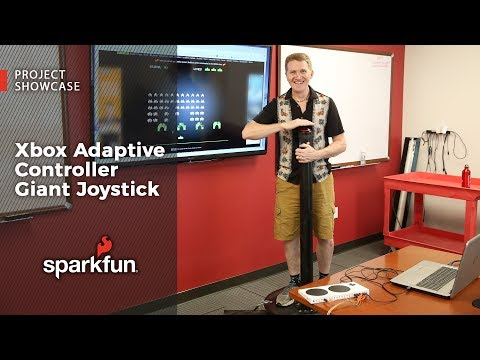 Creating a Big, Dangerous Joystick with the Xbox Adaptive