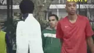 Thierry Henry als Straßenkicker