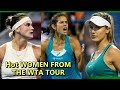TOP HOT fierce GIRLS in WTA tour
