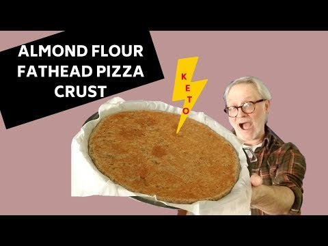 HOW TO MAKE KETO FATHEAD PIZZA CRUST w/ ALMOND FLOUR: EASY LCHF PALEO