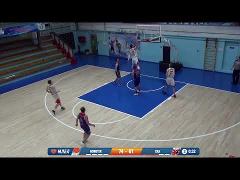 НБА 15.02.2020 1/4 I группа. НОВОТЕК - БК СКА