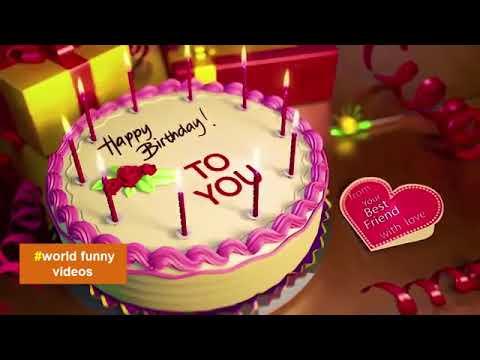 Happy Birthday Song Whatsapp Video Status World Funny Videos