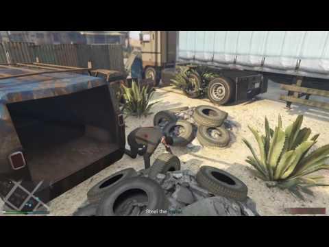 GTA V Funny moments / OH MAN GAWDAMN  / mission bullshit pt.1