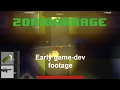 ZomBarrage -  A Top Down 2D Zombie Wave Shooter game - early development footage