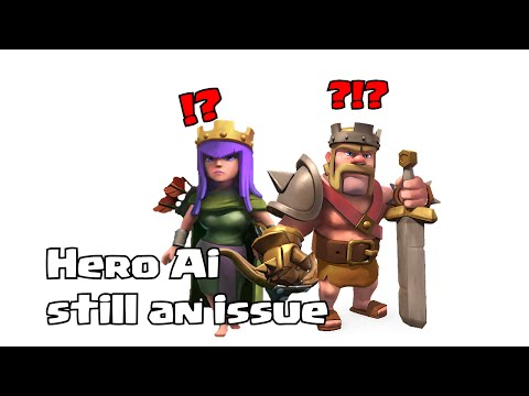 Clash of clans - Hero Ai Still an issue? (Replay analysis)