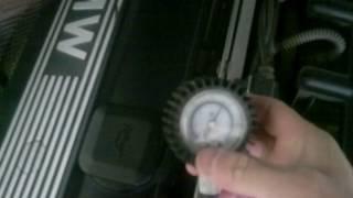 Как проверяется давления в рампе и где она находиться. BMW е39