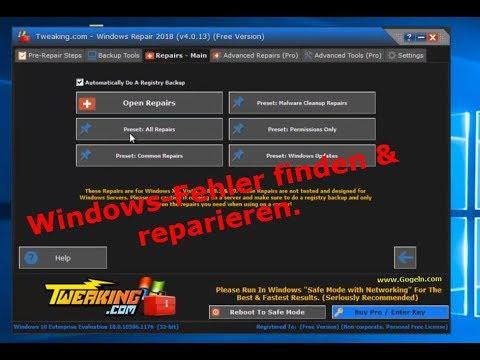 windows 10 reparatur tool