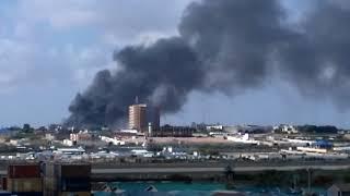 Somalia. Bomb attack in Mogadishu 14-10-2017 part.2