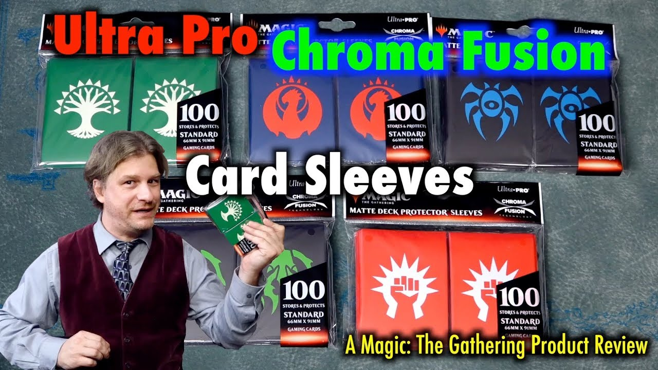 A Review Of The Ultra Pro Chroma Fusion Matte Deck Protector Sleeves For Magic The Gathering Youtube 400 x 304 jpeg 19 кб. a review of the ultra pro chroma fusion matte deck protector sleeves for magic the gathering