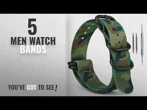 Military Watch Bands [ Winter 2018 ] | New & Popular